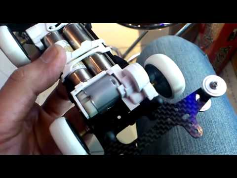 Tamiya M4WD VS Chassis Gear Mounting Clearance: 1/2