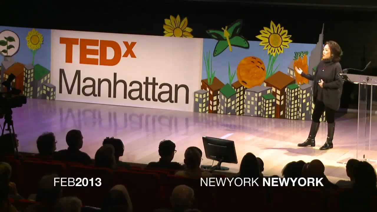 "TEDx Manhattan ""How I Did Less and Ate Better, Thanks to Weeds"""