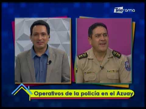 Operativos de la policía en el Azuay