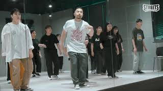 Poppin DS – SPECIAL WORKSHOP STREETS DANCE ACADEMY