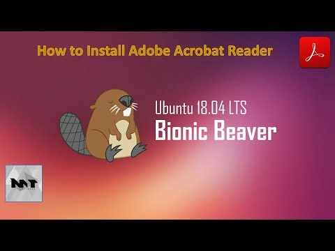 How to Install Adobe Acrobat Reader on Ubuntu 18.04