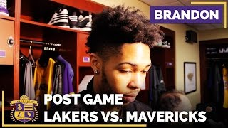Brandon Ingram: 'This Is NOT The Way We Want To Play' by Lakers Nation