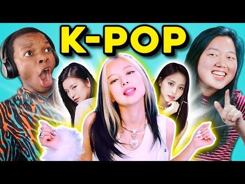 College Kids React To K-Pop (BLACKPINK, TWICE, ITZY)