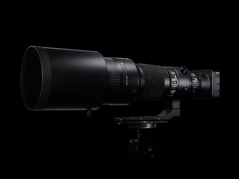 SIGMA 500mm F4 DG OS HSM Sports