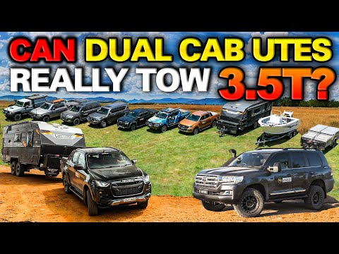 Best Tow Vehicle of 2021 | Ranger Vs HiLux Vs D-Max Vs 200 Vs Y62 Vs Ram Vs 79 Series! Who Wins?!