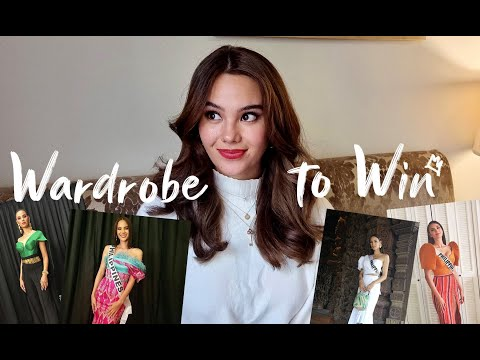 Wardrobe to Win 🏆 How much does wardrobe matter in Miss Universe? 👑 | Catriona Gray