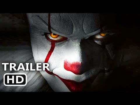 ІT Official Trailer (2017) Clown, Horror Movie HD (видео)