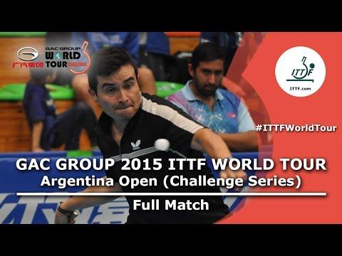 2015 Argentina Open: DAHER Juan/GALVANO Nicolas vs COELLO Geovanny/MINO Alberto FULL MATCH