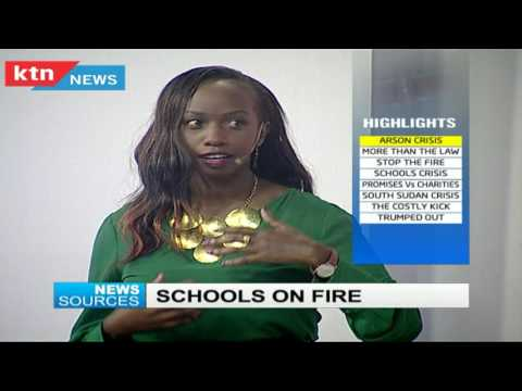 News Sources 27th July 2016 - Arson in Schools