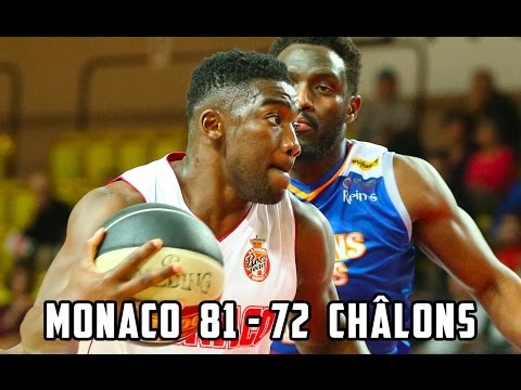 Pro A — Monaco 81 - 72 Châlons-Reims — Highlights
