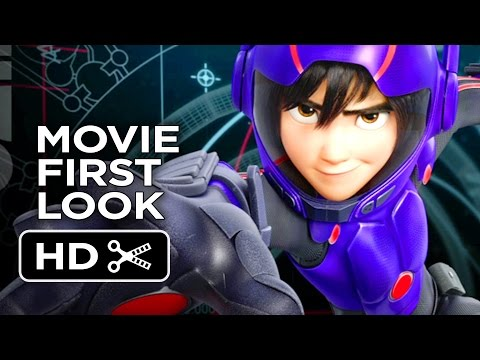 Big Hero 6 – New Character Images (2014) – Disney Animated Movie HD