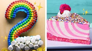 The Final CAKEdown! Easy Cutting Hacks to Make Number Cakes | Easy Cake Decorating Ideas by So Yummy