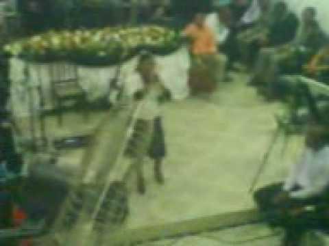 Vânia Pinheiro na Igreja Assembléia de Deus em Areias Candeias-Ba