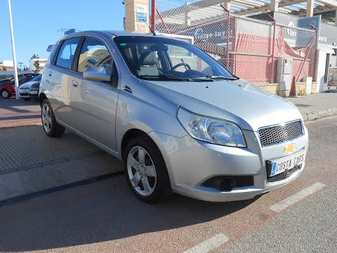 See video Chevrolet AVEO 1.4i HATCH
