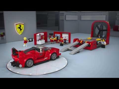 Конструктор Ferrari FXX K и Центр разработки и проектирования - LEGO SPEED CHAMPIONS - фото № 3