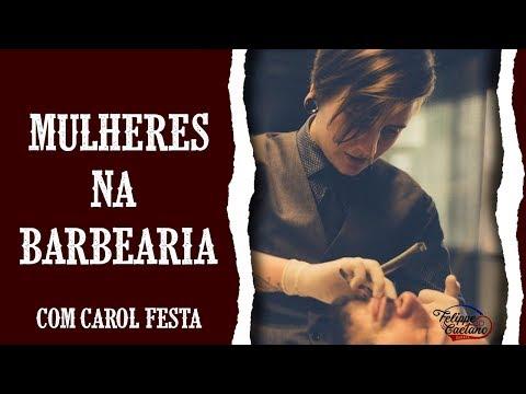 Mulher pode ser Barbeira?- Curso de Barbeiros by Felippe Caetano (видео)