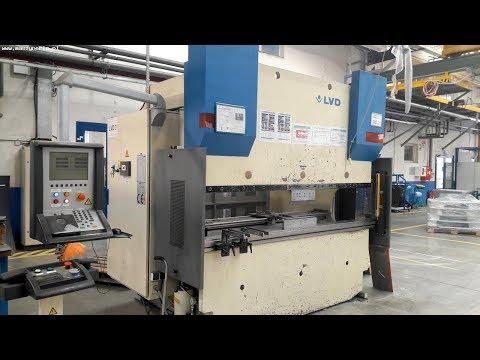 Prasa krawędziowa hydrauliczna CNC LVD PPEB 80/25 CAD 1999