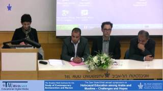 4-Panel Introduction- Holocaust Education among Arabs and Muslims