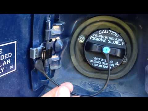 How to install gas door spring for 02-06 Mitsubishi Lancer