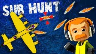 ELITE Bomber Crew HUNTS U-BOAT Submarines!  (Baron's Bomber Crew New Update Release Gameplay Part 1)