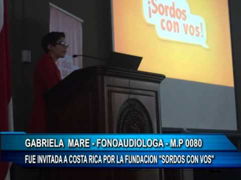 GABRIELA MARE VIAJE A COSTA RICA