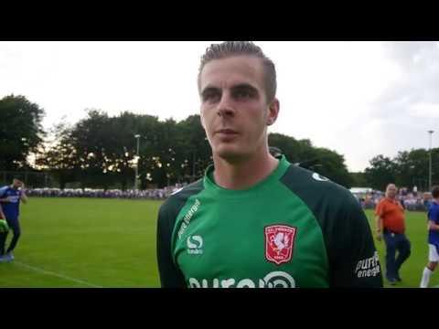 Brondeel na afloop van FC Twente - Everton