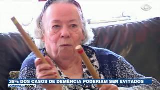 De cada três casos de demência em idosos, um poderia ser evitado. A conclusão é de um estudo apresentado em uma conferência internacional sobre Alzheimer.