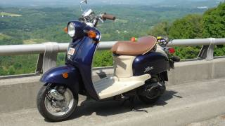 4. 10,000 Miles on the Yamaha Vino!!  (time machine Scooter)