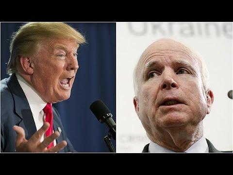 ΗΠΑ: Θύελλα αντιδράσεων στους Ρεπουμπλικάνους για την κόντρα Τραμπ – Μακέιν
