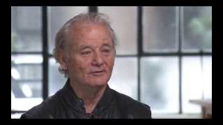 Bill Murray talks about being here...now...