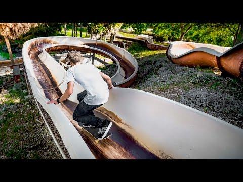 SKATING ABANDONED WATER PARK (видео)