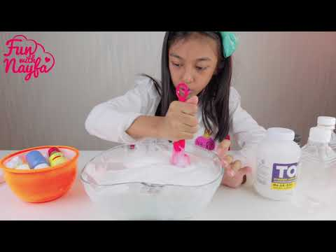 Tutorial Bikin Jiggly MERMAID SLIME JUMBO...