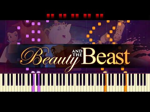 Be Our Guest (Piano) // Beauty And The BEAST