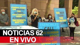 Protestan ejecutivos de funerarias de Los Ángeles – Noticias 62 - Thumbnail