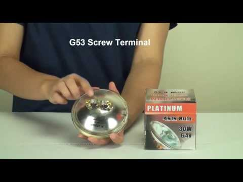 BulbAmerica.com Reviews the PLATINUM 4515 30w 6v PAR36 Spotlamp light bulb