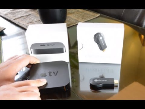 Apple TV - Google's chrome cast vs. apple tv. Which is better for you? In this video I compare the apple TV to the chromecast going over the differences and the advanta...