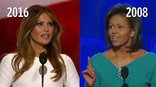 Trump campaign dismisses criticism of Melania Trump speech