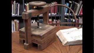 Historical Gem: An Antique Copy Press