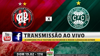 INSCREVA-SE EM NOSSO CANAL: http://bit.ly/2kWbfbT O Clube Atlético Paranaense e o Coritiba entram em campo para...