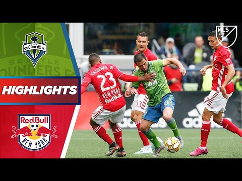Video: Seattle Sounders FC vs. New York Red Bulls | Late Goals AND Early Goals! | HIGHLIGHTS