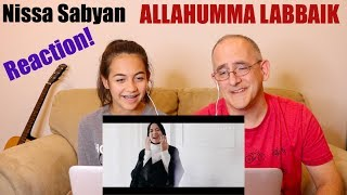 Video SABYAN - ALLAHUMMA LABBAIK | REACTION MP3, 3GP, MP4, WEBM, AVI, FLV Januari 2019