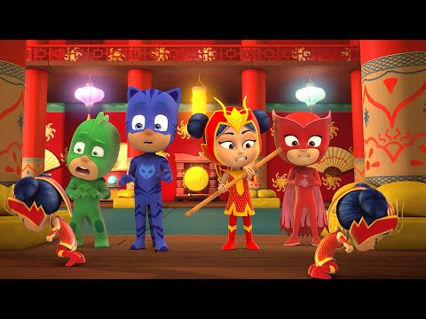 Who is the Real An Yu? 🐲🌋 PJ Masks Mystery Special |  PJ Masks Official