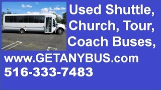 4. 30 Passenger Shuttle Bus For Sale by NY Dealership | 2009 International 3200 ElDorado Shuttle Bus