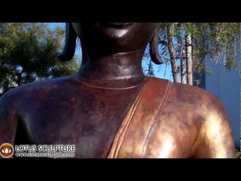 Large Brass Sukhothai Buddha 86