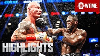 Wilder, Martin, win World Heavyweight Title Fights