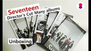 Seventeen let's check photocards:D Director's cut Special album