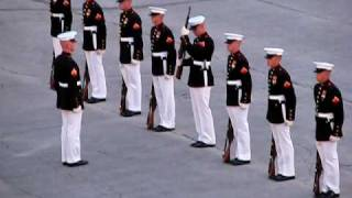 """Marines' Silent Drill with an Oops! (""""Military Ceremony Fail"""" ORIGINAL)"""