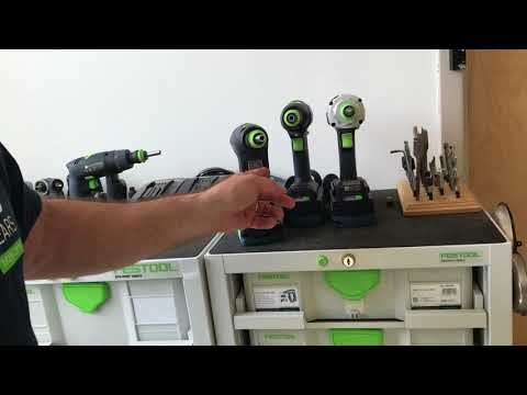 Festool Tip: How to Quickly Access Your Bits in Festool Cordless Drills