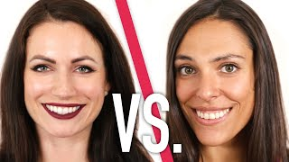 """Full face or """"au naturel,"""" which one are you?BoldlyBuzzFeedYellow has changed its name to Boldly. It's the same content you know and love just Bolder. Subscribe for daily videos about beauty, fashion, body positivity, and to join a community of incredible women working to empower and inspire each other.Credits: https://www.buzzfeed.com/bfmp/videos/22009Check out more awesome videos at Boldly!https://bit.ly/2p6kiZuhttps://bit.ly/2nbQuy4https://bit.ly/publyGET MORE BUZZFEED:https://www.buzzfeed.comhttps://www.buzzfeed.com/videoshttps://www.youtube.com/buzzfeedvideohttps://www.youtube.com/boldlyhttps://www.youtube.com/buzzfeedbluehttps://www.youtube.com/buzzfeedviolethttps://www.youtube.com/perolikehttps://www.youtube.com/ladylikeMUSICLicensed via Audio NetworkSFX Provided By AudioBlocks(https://www.audioblocks.com)VIDEOFilm Footage courtesy of Shutterstock, Inc.Used by PermissionEXTERNAL CREDITSEsma Aydinhttp://www.instagram.com/esma12"""