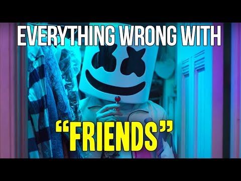 "Everything Wrong With Marshmello & Ann-Marie - ""FRIENDS"""